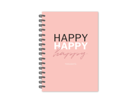 Notitieboek | Happy happy happy