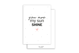 Kaart | You are my sunshine