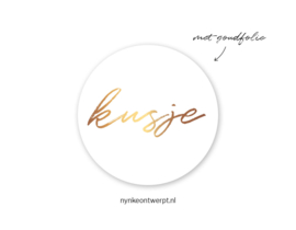 Sticker | Kusje | 10 stuks