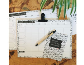 A-4 Familieplanner | New week