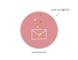 Sticker | Brievenbus geluk | 10 stuks
