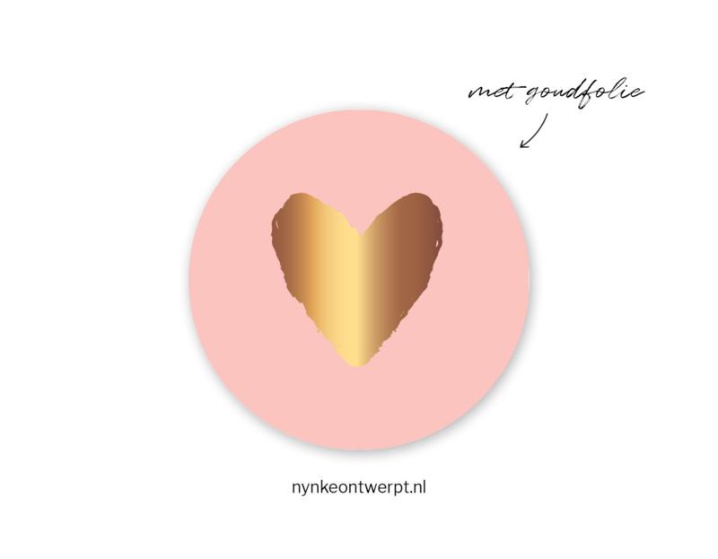 Sticker | Hartje | 10 stuks