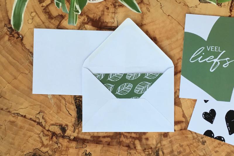 Envelop A-6   Wit