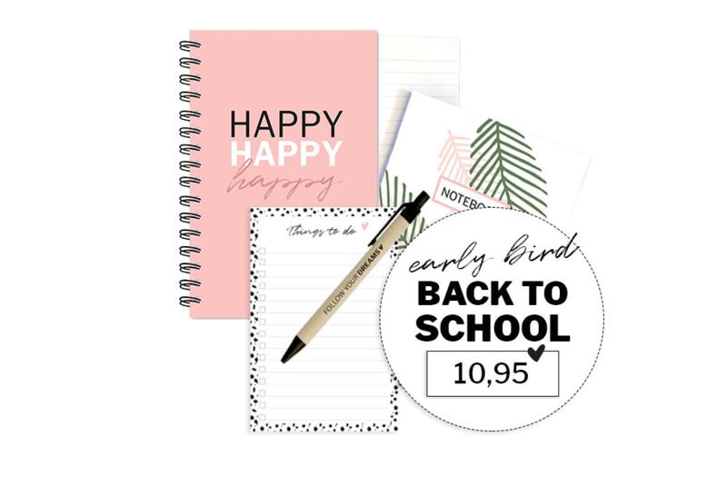 Aanbieding | Back to school