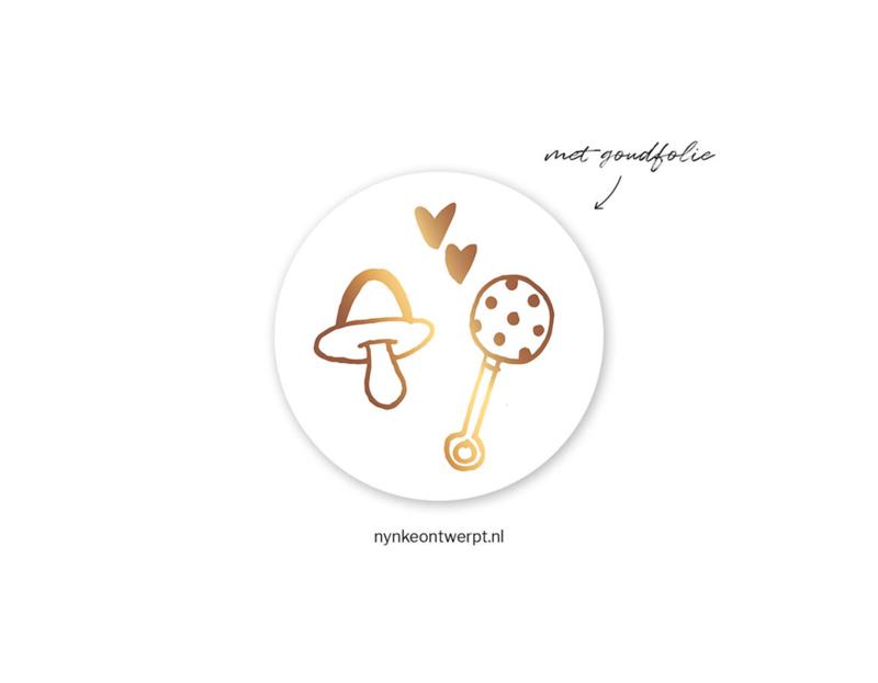 Sticker | Baby stuff | 10 stuks