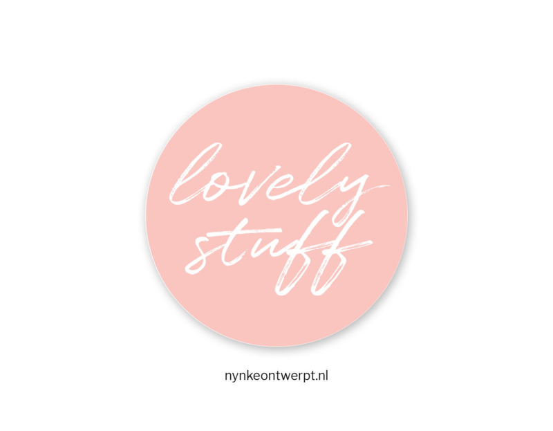 Sticker | Lovely stuff | 10 stuks