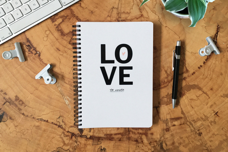 Notitieboek | Love to write