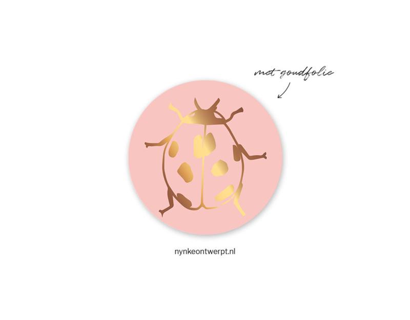 Sticker | Lieveheersbeestje | 10 stuks