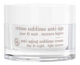 Crème Sublime anti-âge pot Rechargeable / Refilable - Texture légère