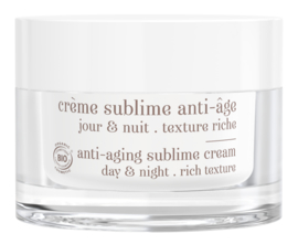 Crème sublime pot Rechargeable / Refillable  -Texture Riche
