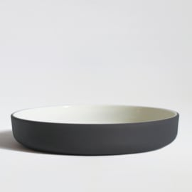 Dinerset bowl Ø 22 cm | dark grey (8 items)