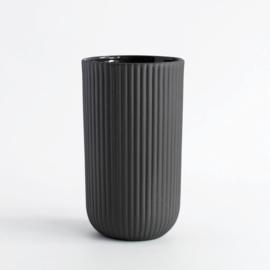 Mok 220 ml | latte | donkergrijs