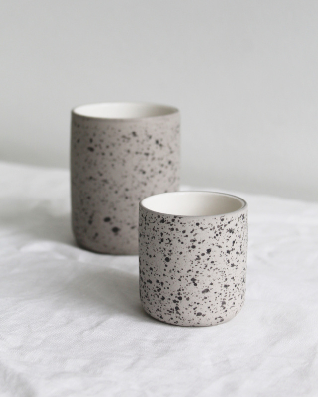 Espresso cup - set of 2 | speckled