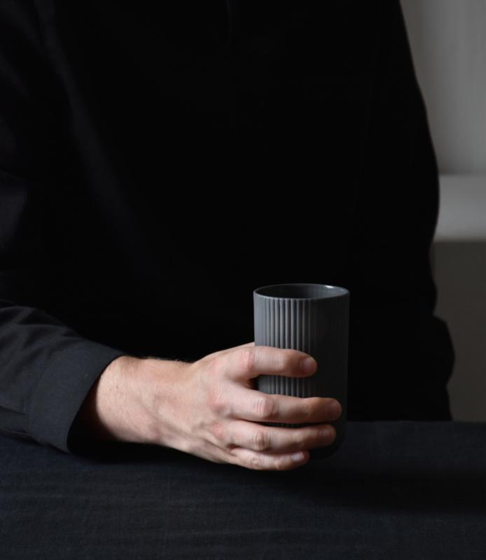 Cup 220 ml | latte | dark grey
