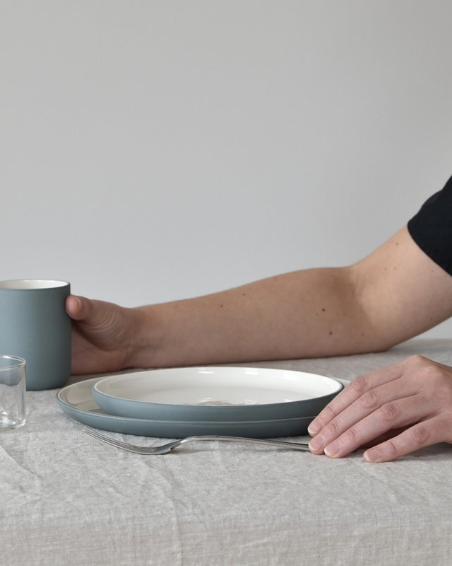 Bord Ø 20 cm   teal