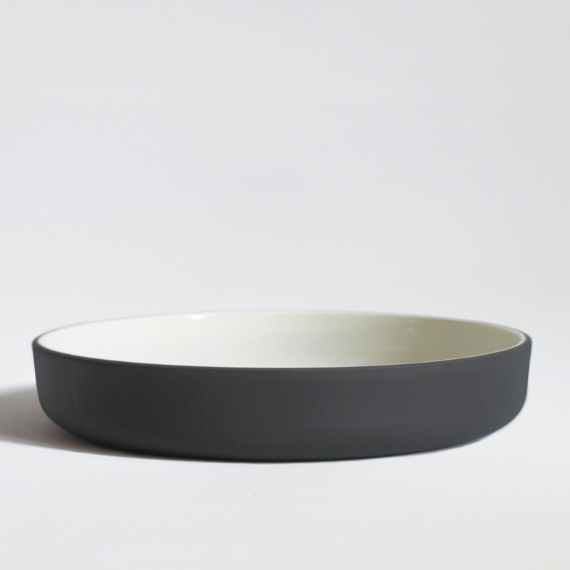 Dinerset bowl Ø 22 cm | dark grey (10 items)