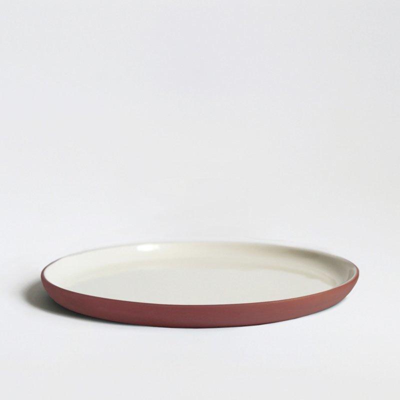 Bord Ø 20 cm | terracotta