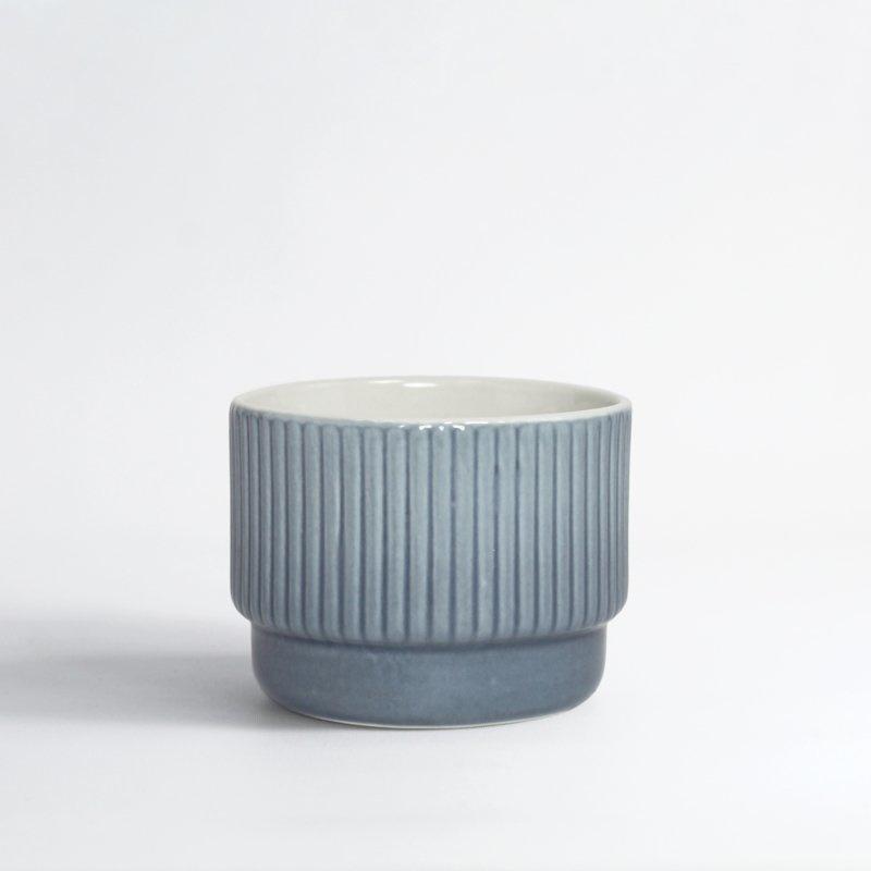Cappuccino mok 120 ml | Blauw dégradé