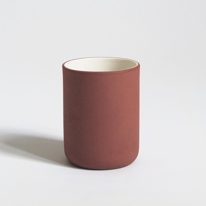 Regular cup - set of 4 | terracotta