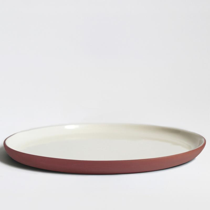 Bord Ø 26 cm | terracotta