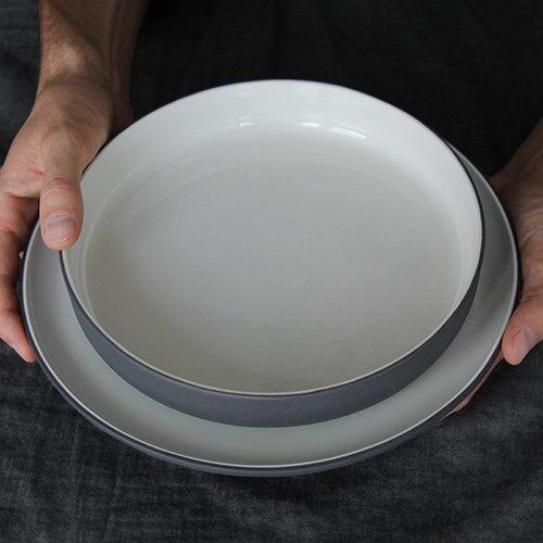Schaal Ø 22 cm | donkergrijs