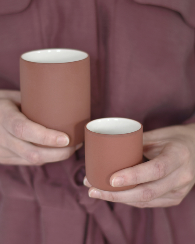 Espressokop 60 ml | terracotta