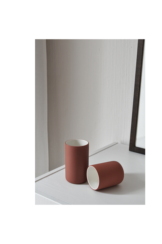 Archive Studio | cups terracotta | Michiel Bosman