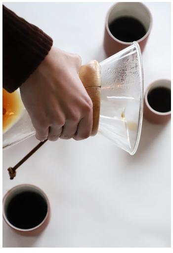 Archive Studio | cups terracotta | De koffiefilters