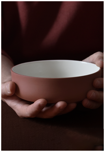 Archive Studio | bowl terracotta | Michiel Bosman