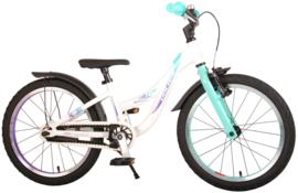 Volare Glamour Kinderfiets - Meisjes - 18 inch -  Parelmoer mint groen