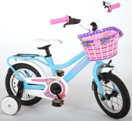 Volare Brilliant Kinderfiets - Meisjes - 12 inch - Blauw