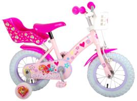 Volare Paw Patrol Kinderfiets - Meisjes - 12 inch - Roze
