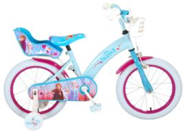 Volare Disney Frozen Kinderfiets - Meisjes - 16 inch - Blauw / paars