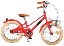 Volare Melody Kinderfiets - Meisjes - 16 inch - Pastel Rood