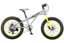 FAT BIKE ALLROUND 20INCH 2D GRIJS-GROEN