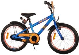 Volare NERF Kinderfiets - Jongens - 18 inch - Satijn blauw