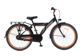 Popal Funjet 24 inch - Mat Zwart Oranje
