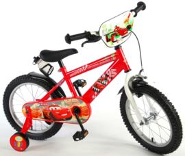 Volare Disney Cars Kinderfiets - Jongens - 16 inch - Rood