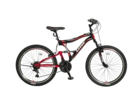 UMIT ALBATROS 24 INCH MTB BLACK - RED