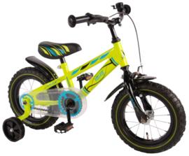Volare Electric Green Kinderfiets - Jongens - 12 inch - Groen