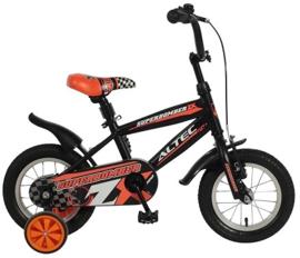 Altec Superbomber Kinderfiets - Jongens - 12 inch - Zwart/ oranje