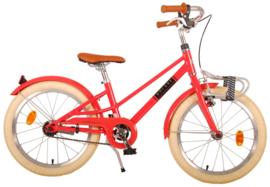 Volare Melody Kinderfiets - Meisjes - 18 inch - Pastel rood