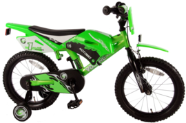 Volare Motobike Kinderfiets - Jongens - 16 inch - Groen