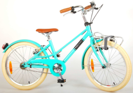 Volare Melody Kinderfiets -  Meisjes - 20 inch - Turquoise - Twee handremmen