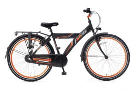 Funjet N3 26   Mat Zwart - Oranje