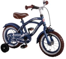 Volare Blue Cruiser Kinderfiets - Jongens -12 inch - Blauw