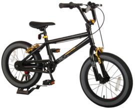 Volare Cool Rider Kinderfiets - Jongens - 16 inch - Zwart - Twee handremmen