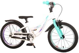 Volare Glamour Kinderfiets - Meisjes - 16 inch - Parelmoer Mint Groen