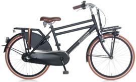 Popal Daily Dutch Basic+ Jongensfiets 24 inch -  Mat Zwart