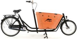 Popal Cangoo Cityhopper Bakfiets 26 inch - Zwart Hout